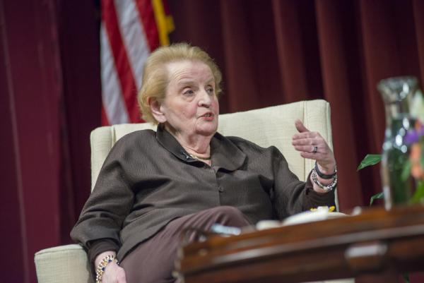 Lehigh University International Relations - Madeline Albright