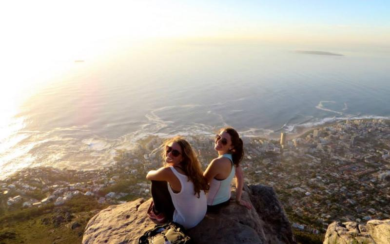 Lehigh University International Relations - Lauren Maxfield in Cape Town